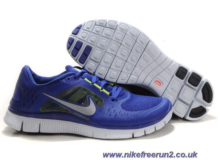 Cheap Discount Womens Nike Free Run 3 Deep Royal Blue Reflect Silver Sail  Volt Shoes Shoes Shop