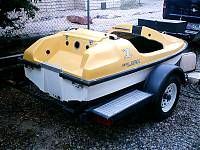 1987 8' Zamco Midwest Aqua Lark mini jet boat for sale. - Boat Design Forums