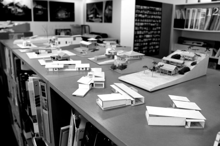 Utz-Sanby Models _ The Office _ Model-making is a significant part of the design processes.  It helps us to not only present ideas, but also to test and develop them through iteration.