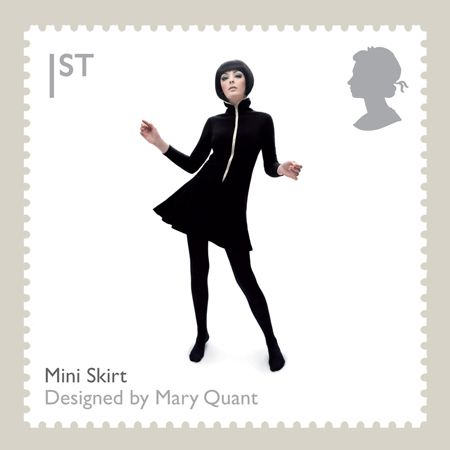 Mary QuantMinis Skirts, Royal Mail, Minis Dog Qu, Quant Design, Mini Skirts, Fashion Inspiration, Mary Quant, British Design, Design Classic