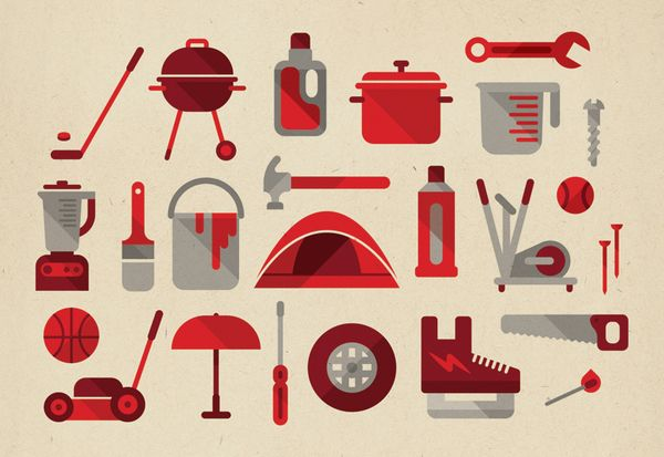 Canadian Tire Infographic by MUTI , via Behance