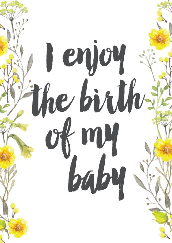 Free Printable Birth Affirmation 16