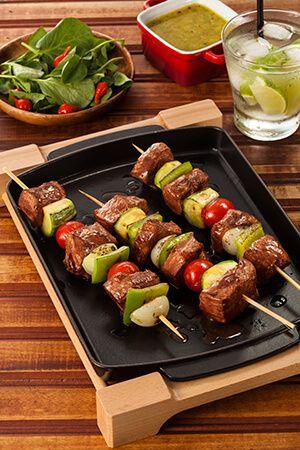 Encontre Receitas de Espetinhos de paleta e outras carnes especiais. Conheça a Academia da Carne e faça cursos e aprenda receitas