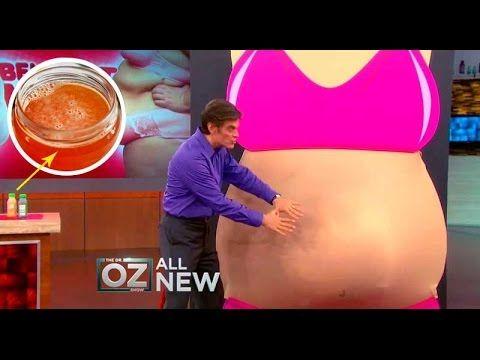 Doctor OZ mostró en PUBLICO una Bebida que QUEMA GRASA durante TODO el Día ! - YouTube