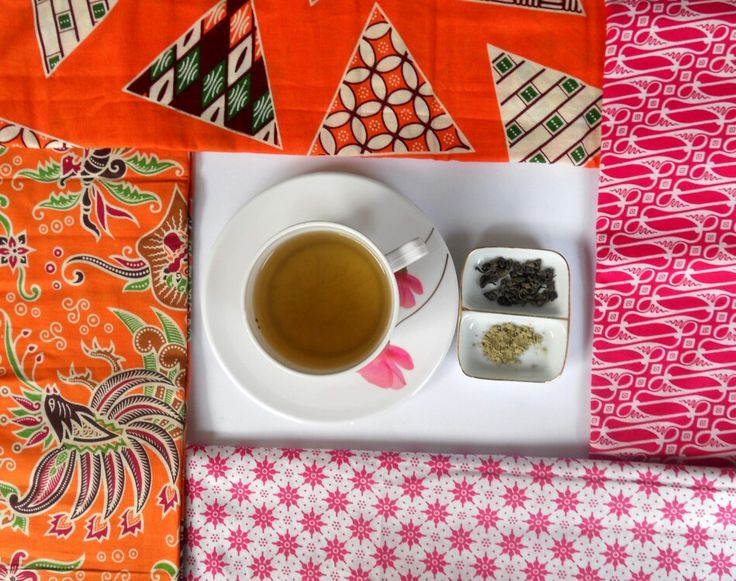 Greentea and batik. The heritage  of Java, Indonesia