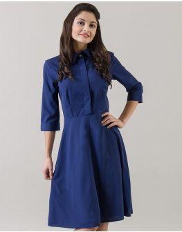 Blue Darling Shirt Dress