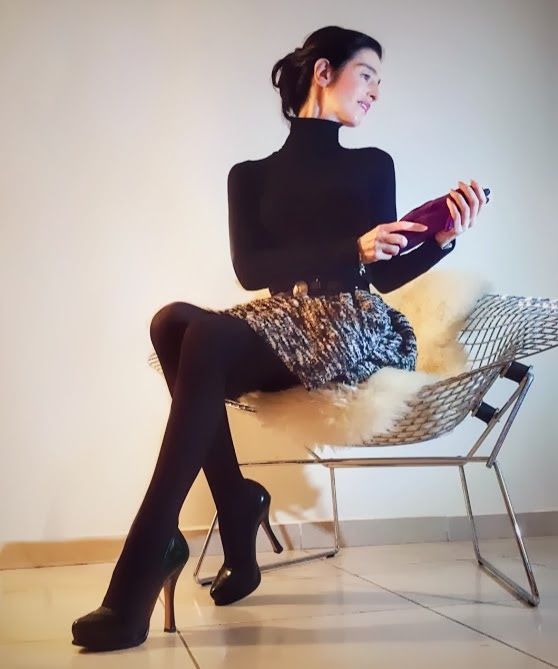 thessrifashion : Tweed Dior Skirt