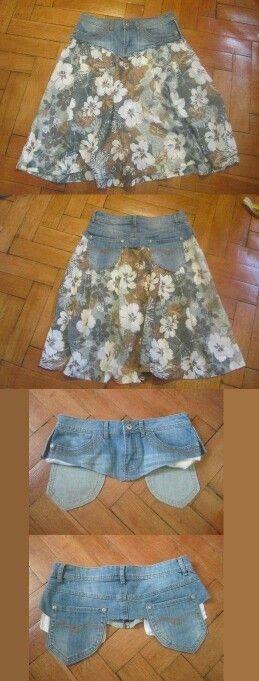Reaproveite aquela velha calça jeans q vc ja nao usa mais