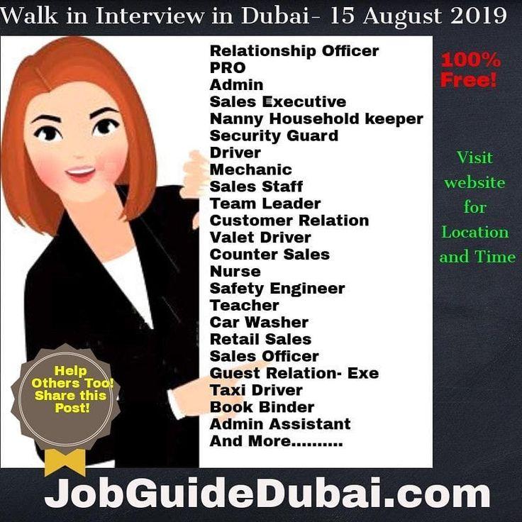 Visit website. jobindubai jobsearch job jobinterview