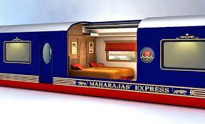 Maharajas' Express de uma iniciativa da IRCTC redefinindo a experiência de viagem de trem de luxo na Índia. Uma viagem ao esplendor da Incredible India cultural Herança.
