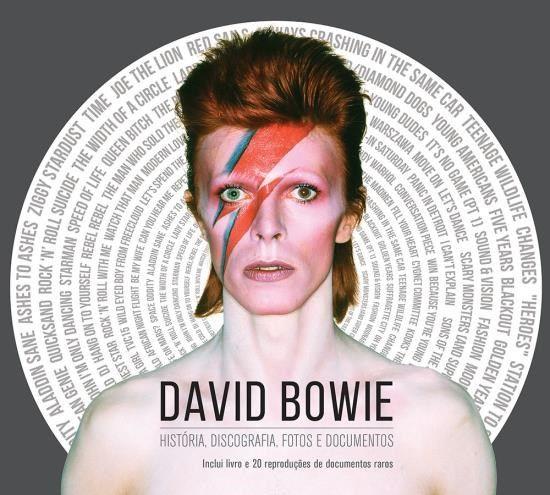 David Bowie - História, Discografia, Fotos e Documentos