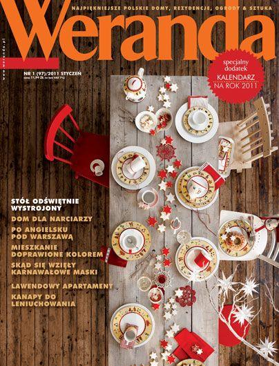 Okładka magazynu Weranda 1/2011 www.weranda.pl