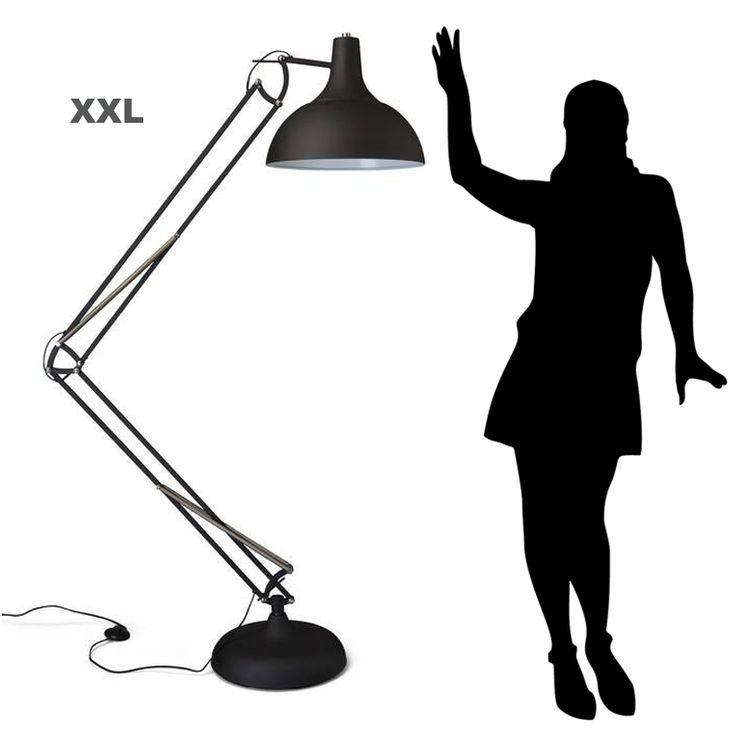 XXL-vloerlamp-zwart-staande-industriele-lamp