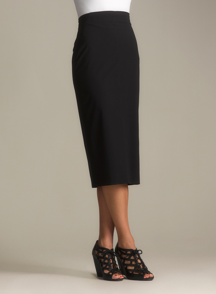 From lacey pencil skirts to roomier ankle-length designs, finding a figure-flattering new skirt that you absolutely love is easy with the fantastic selection available at Sears. Knee-length skirts in basic black, navy or khaki are great options for the office and business casual events.