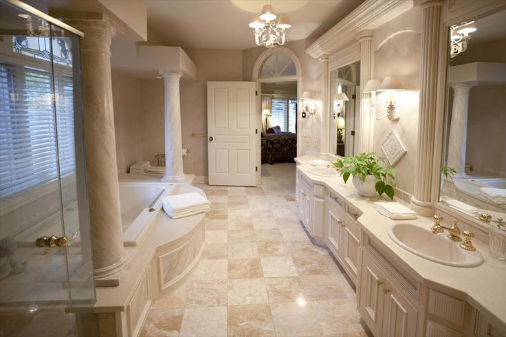 75b61e4ef921f0004404a081f80652c8--marble-tile-bathroom-tile-bathrooms Light Bathrooms