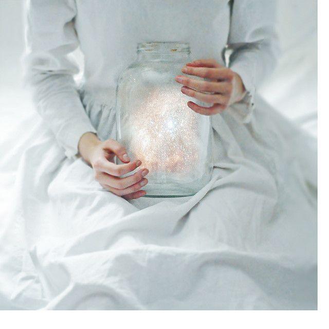 Jar full of light
