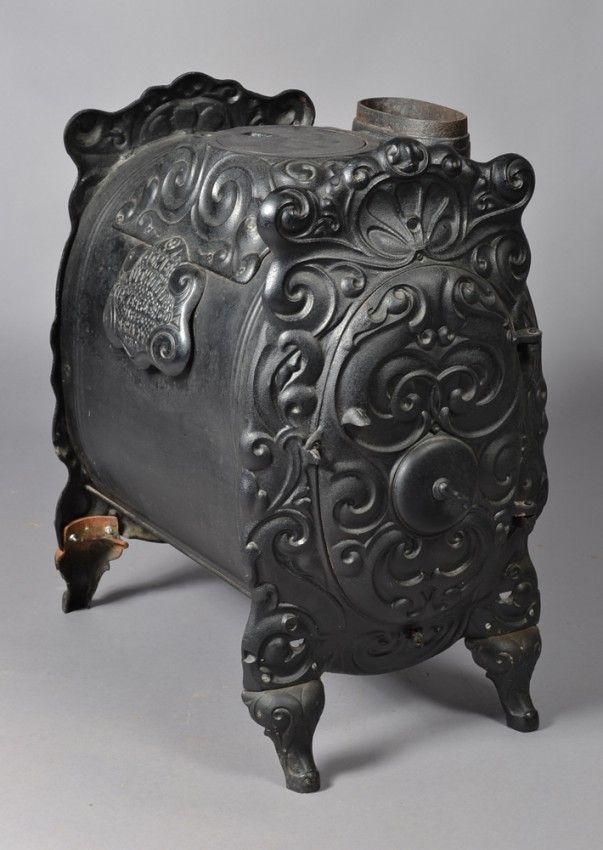 Antique Acme Cast Iron Stove   Iron/Metal   Pinterest ...