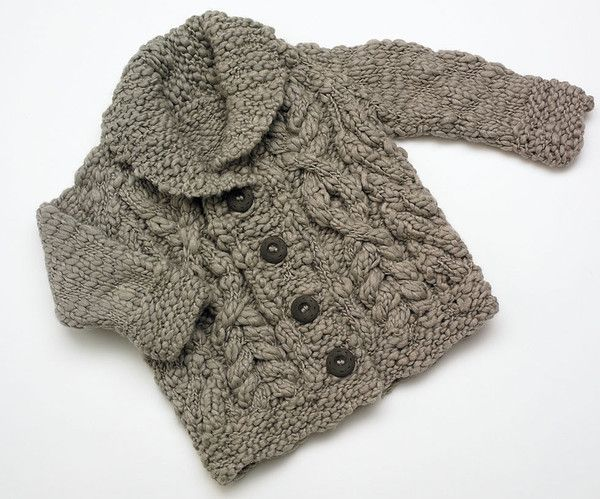 Chunky knit cable cardigan | #MerinoWool | Flordemano