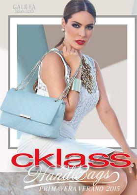 Catalogo Cklass 2015 Hand Bag de primavera  verano