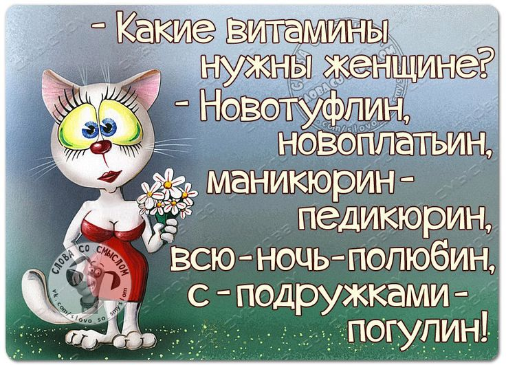 Слова со смыслом Женский Юмор, Статусы, Цитаты   ВКонтакте