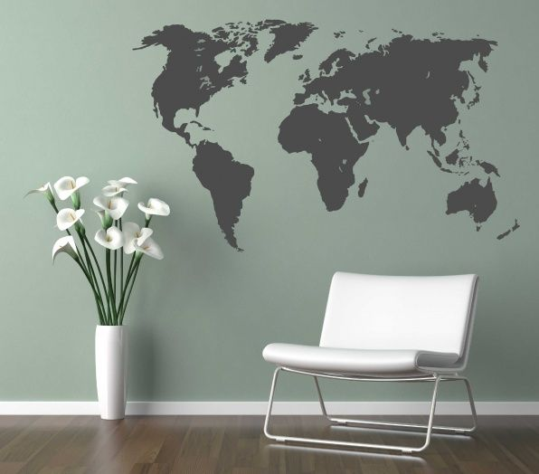 wereldkaart zwart wit - Google zoeken