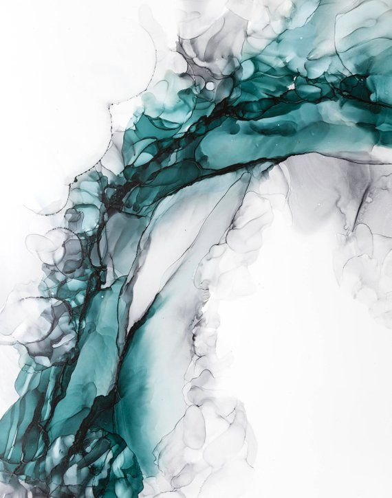 Alcohol Ink Art Abstract