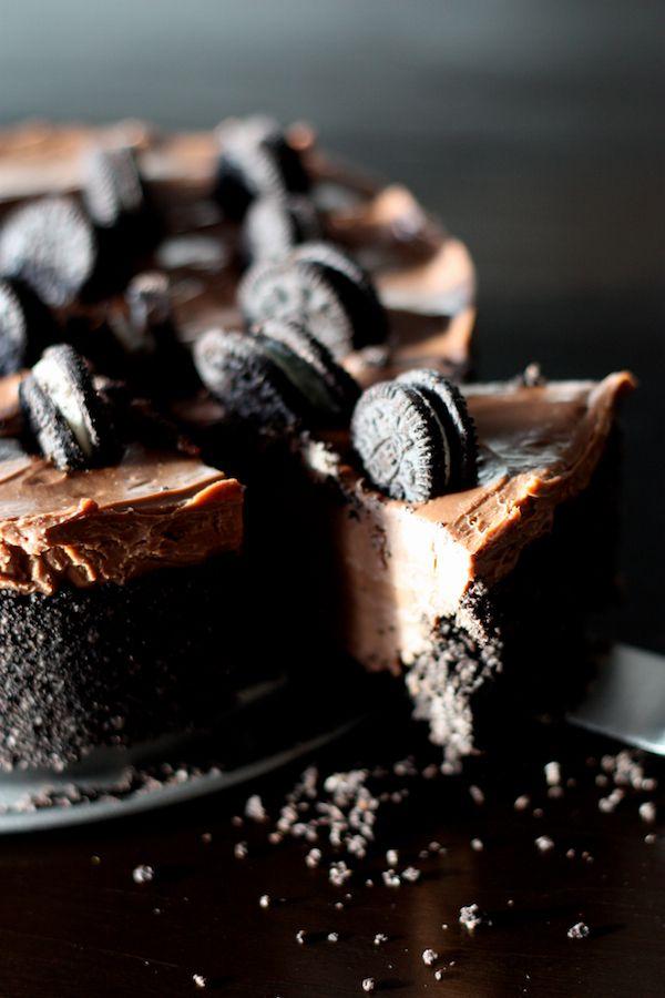 Cheesecake Nutella® et Oreos
