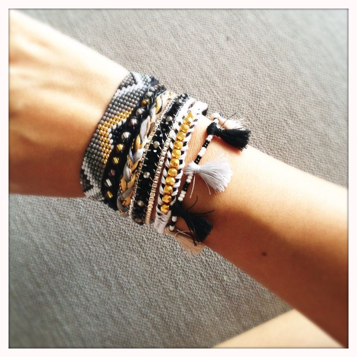DIY Bracelet inspiration Hipanema                                                                                                                                                                                 Plus