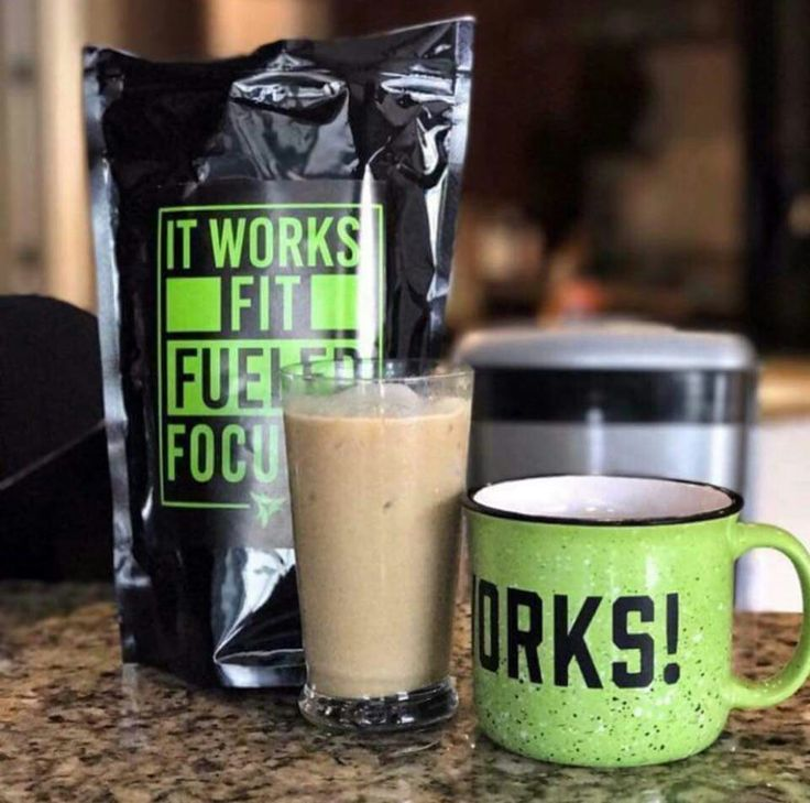 This is one of It Works Product line! Keto Coffee!! MCT oil, Grass feed butter. Collagen. No GMO and Soy!! Buy yours today at my website: lizjones.myitworks.com