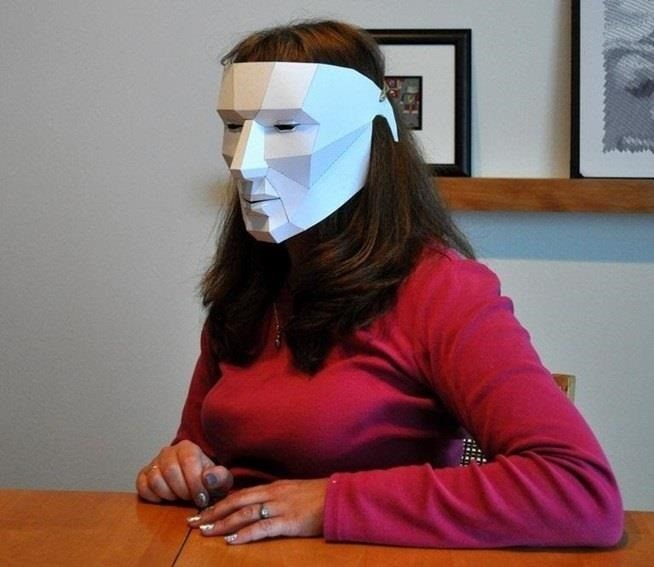 How To: These Free Printable Masks Are About As Lazy As Halloween Costumes  Can Get