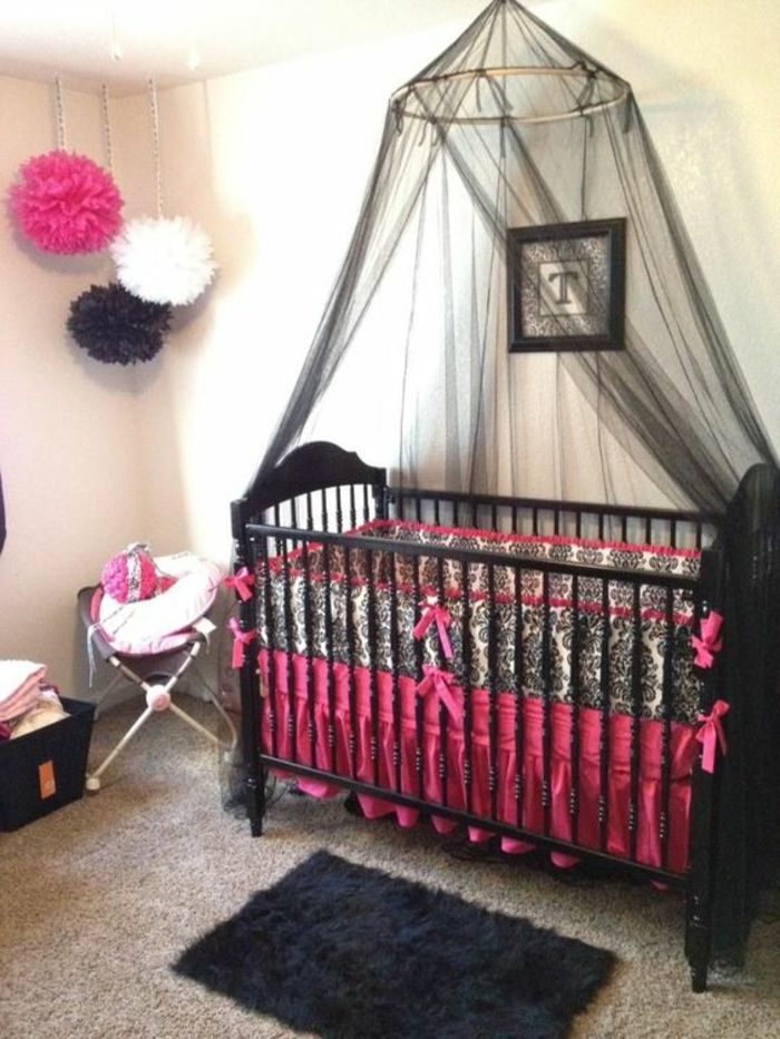 ▷ 1001+ Ideen Für Babyzimmer Mädchen | Tolle Kinderzimmer Designs |  Pinterest | Babyzimmer Mädchen, Babyzimmer Und Farbe Schwarz