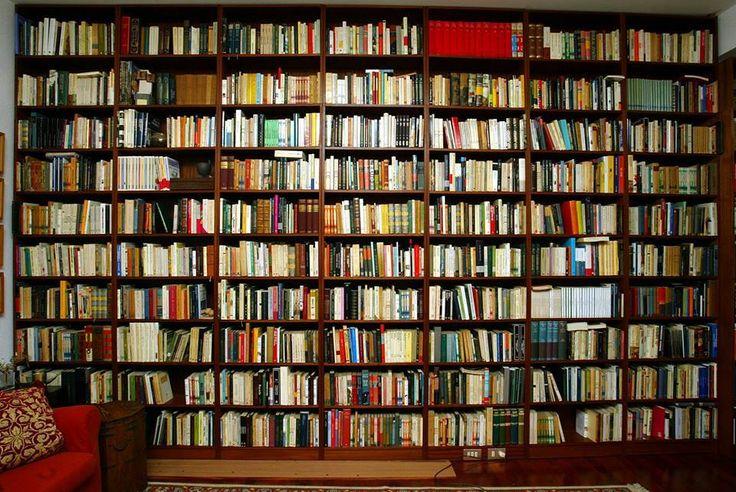 Que Gran Biblioteca:)