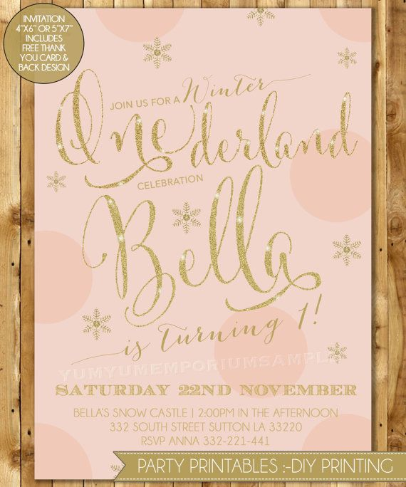 winter onederland birthday party invitation by sweetgreetsdesigns, Party invitations