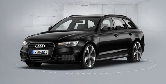 Audi A6 Avant Black Edition Upgrade