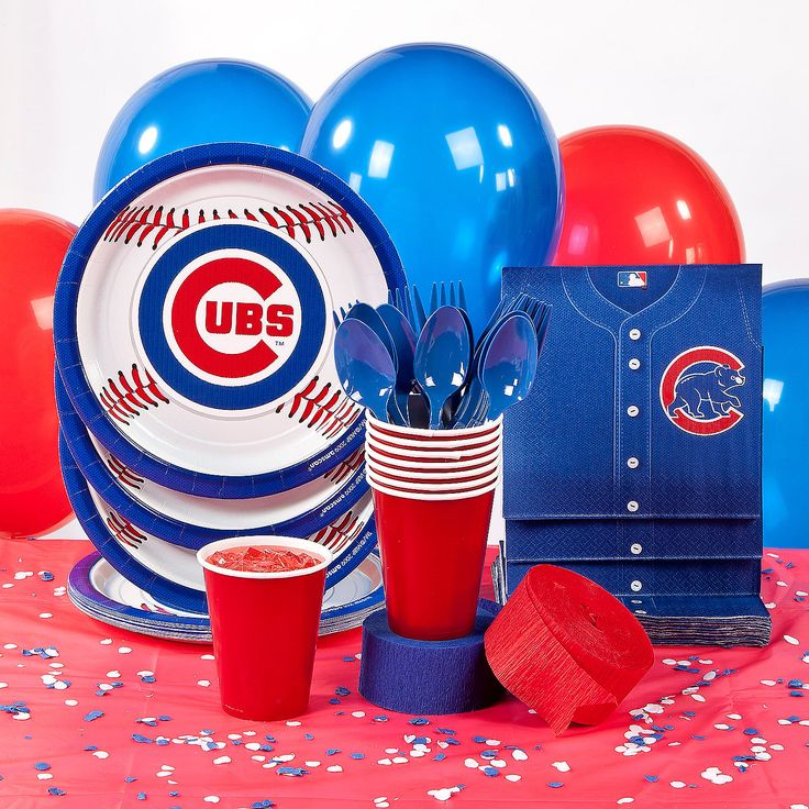 34 Best Chicago Cubs Cakes Images On Pinterest: 15 Best Images About Chicago Cubs Party On Pinterest