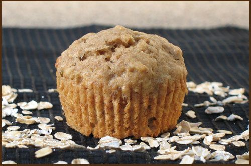 Banana Oatmeal Raisin Muffins | Yummy | Pinterest
