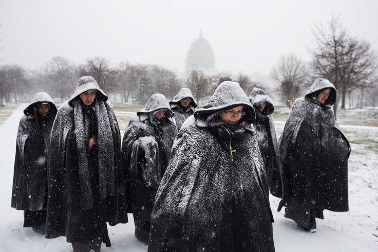 USA zmagają się z gigantycznym śnieżnym frontem - Wiadomości