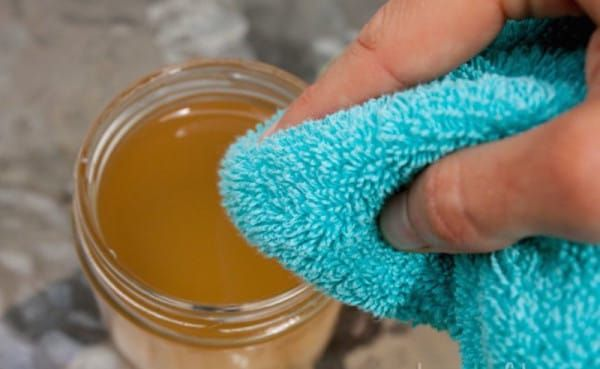 Apple Cider Vinegar Remedy for Skin Tags (from Little Things; soak ACV into cotton ball or wash rag; rub cotton ball on the skin tag 2-3 times a day; repeat process every day, sometimes after a week or more, until tag changes color & eventually falls off!)