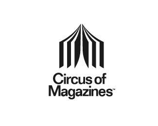 "Logo ""Circus of Magazines"" par logotomy"