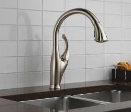 Delta Addison Kitchen Faucet Rox 287 Avg 4 3 Stars 121 Reviews Touch