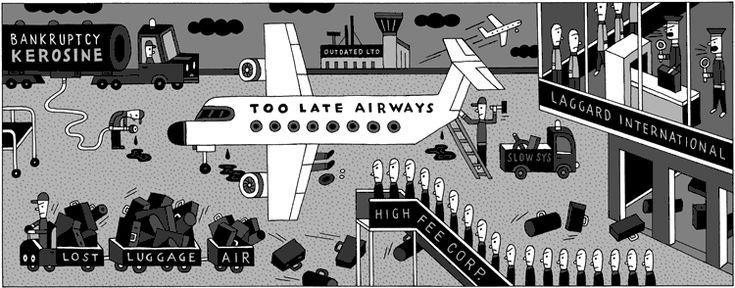 Air Traffic – Illustration – Wagenbreth