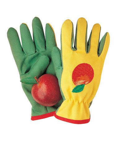 Kids' gardening gloves, great for about 4-6.