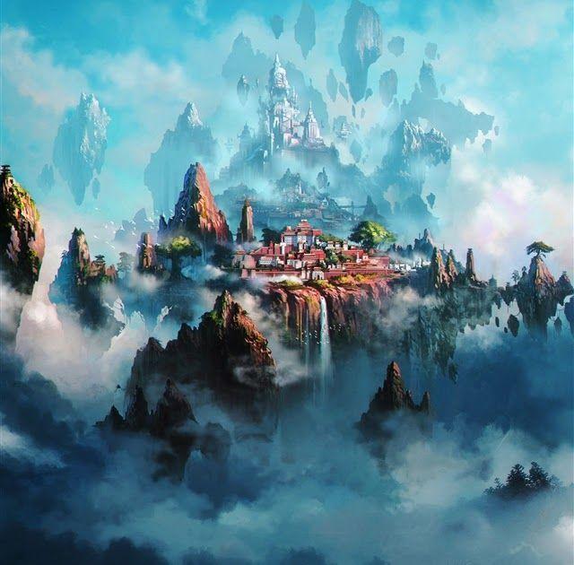10 Anime Ios Wallpaper Hd Cloud Town Fantasy Anime Ipad Pro Wallpapers Free Do Ipad Pro Wallpaper Anime Wallpaper Download Anime Wallpaper