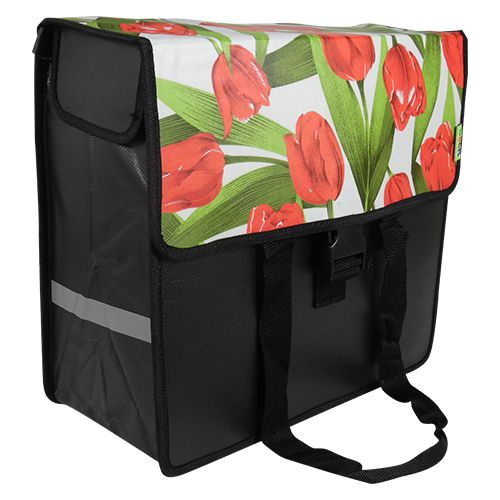 Beck Shopper - Tulips Red