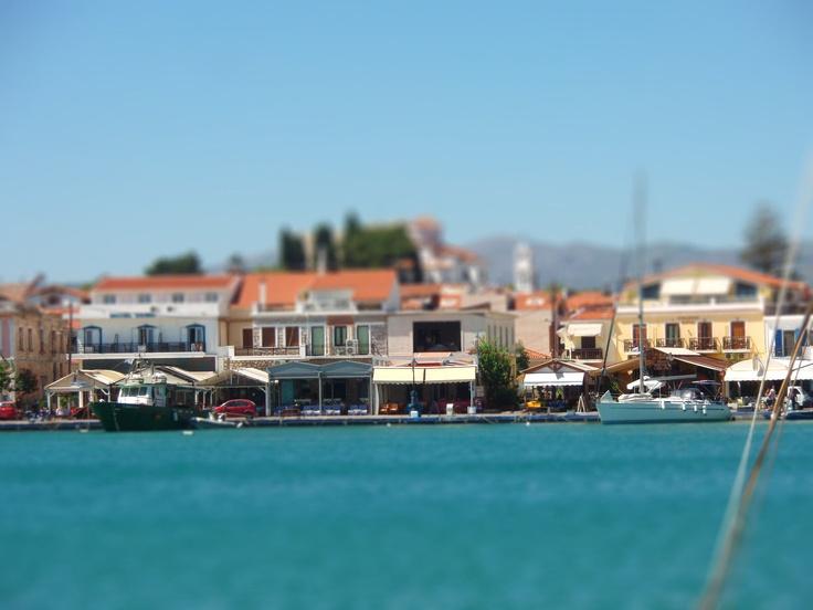 Pythagoreion, Samos, Greece  photo by me, tilt-sift effect  http://3otiko.blogspot.gr/2011/09/photoshop_29.html