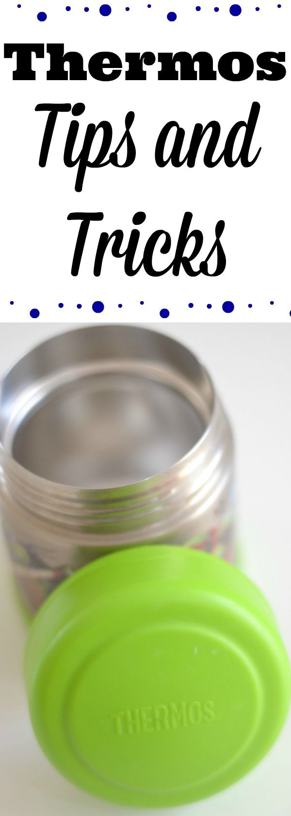 how to use a thermos