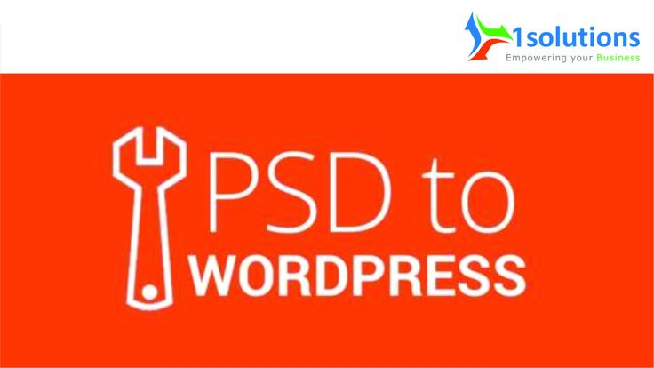 1Solutions offers SEO-friendly & feature-rich #PSDtoWordPress conversion services to transform your pixel-perfect designs into a fast loading, SEO friendly & Crossbrowser compatible WordPress CMS theme. Our expert team can convert format designs such as BMP, PDF, AI, PNG, TIF, PSD, GIF, JPG by integrating or customizing it with WordPress theme and templates.