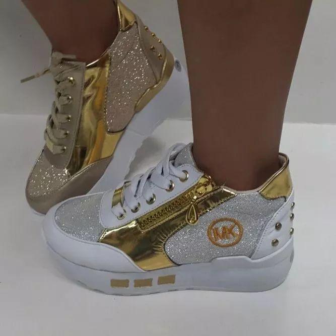198c0a31 botas botines calzado mk para niñas de moda colombianos | Coketa ч  kσquєtíѕímα | Zandalias de moda, Calzado niños, Zapatos converse