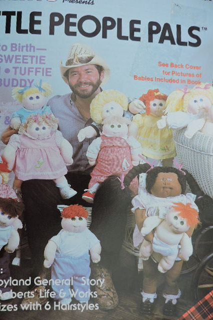 Xavier Roberts Presents Little People Pals Doll Vintage 1982