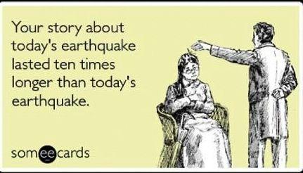 earthquake meme | Après moi, le déluge - Mumbrella